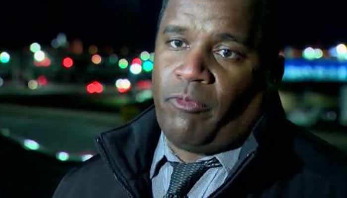 Officer Shawn Vinson said the suspect will be taken for a mental evaluation. (Source: WBAL/CNN)