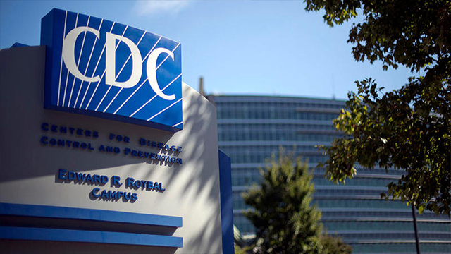 In this Oct. 8, 2013, file photo, a sign marks the entrance to the federal Centers for Disease Control and Prevention (CDC) in Atlanta. (AP)
