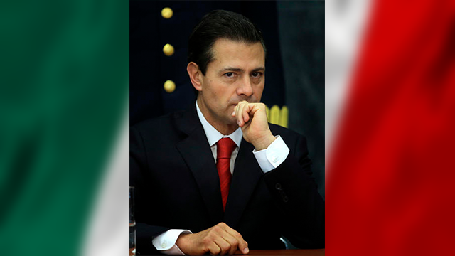 (AP Photo/Marco Ugarte). Mexico's President Enrique Pena Nieto pauses during a press conference at Los Pinos presidential residence in Mexico City, Monday, Jan. 23, 2017. Pena Nieto said Monday that Mexico's attitude towards the Donald Trump.