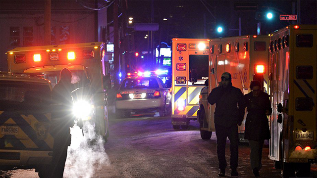 Police responding to mosque shooting in Quebec City