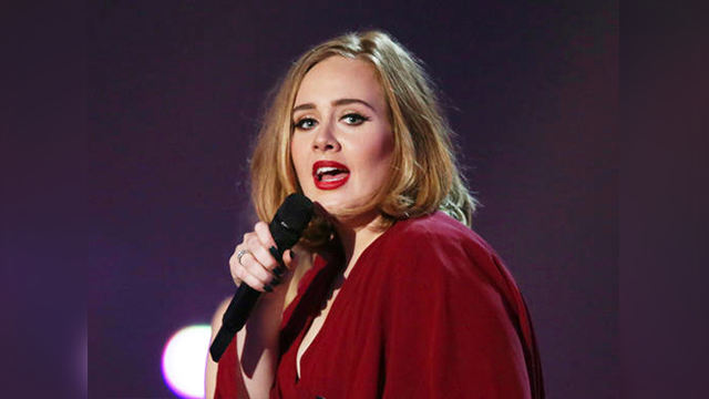 (Photo by Joel Ryan/Invision/AP, File). FILE - In this Feb. 24, 2016 file photo shows Adele onstage at the Brit Awards 2016 at the 02 Arena in London. There are few things Beyonce has not conquered, and the Grammy for album of the year is one of them. ...