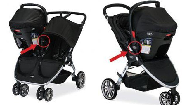 Briax is recalling their B-Agile and BOB Motion Strollers.  (Photo: U.S CPSC)