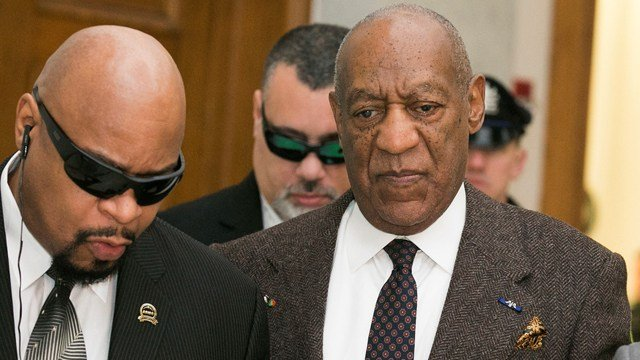 A federal judge in Massachusetts dismissed a defamation lawsuit against Bill Cosby by Katherine McKee, an actress who claimed he raped her in 1974, according to court documents. Cosby is seen here at a 2016 pre-trial hearing.