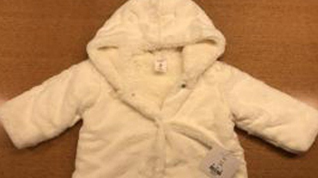 Dillard's has recalled their Faux-Fur Hooded Bear Coats after discovering the metal snaps on the jackets can detach, posing a choking hazard to children.