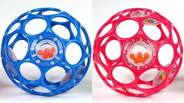 Kids II is recalling 680,000 Oball Rattles due to a choking hazard. (Source: Kids II/Consumer Product Safety Commission)