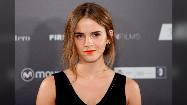 "(AP Photo/Abraham Caro Marin, File) In this Aug. 27, 2015 file photo, actress Emma Watson poses for photographers during the photocall for the film, ""Regression,"" in Madrid, Spain."