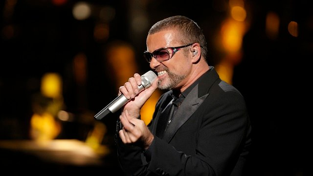 In this Sept. 9, 2012 file photo, British singer George Michael in concert to raise money for AIDS charity Sidaction, in Paris, France. (AP Photo/Francois Mori, File)