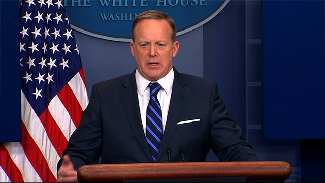 (CNN Image) Press Secretary Sean Spicer was asked repeatedly about Trump's wiretap allegation during the White House briefing on March 7, 2017.