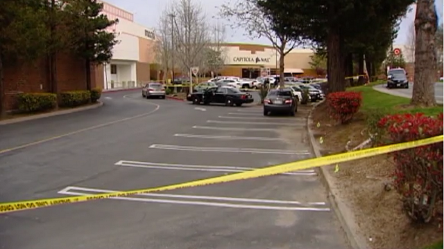 A 36-year-old California man shot and killed his 8-year-old daughter at a mall before turning the gun on himself on Sunday, March 20, 2017. (Source: KSBW via CNN)