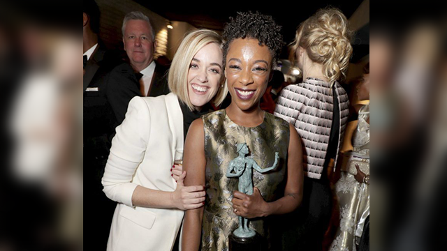 Lauren Morelli and Samira Wiley were married this weekend in Palm Springs, Calif. (Photo: AP)