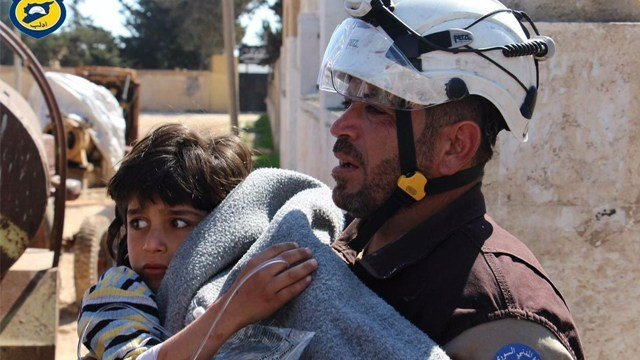 Scores dead in Syria after suspected chemical attack