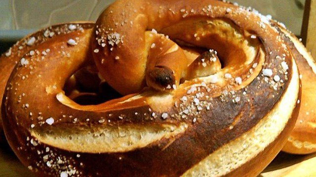 It's National Pretzel Day which means you should have one to celebrate. Wait, you're not near a mall or ballgame? Well then, here's a few recipes you can make at home to curb your pretzel cravings! (Photo: Allrecipes)