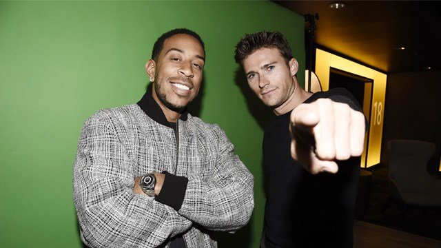 Chris 'Ludacris' Bridges and Scott Eastwood seen at a Special IMAX screening of 'The Fate of the Furious' with Chris 'Ludacris' Bridges and Scott Eastwood.  (Photo by Dan Steinberg/Invision for Universal Pictures/AP Images)