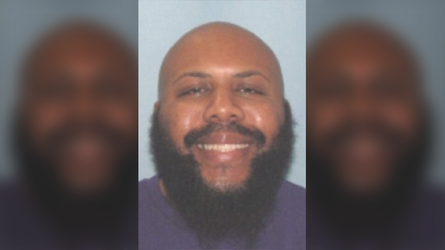 This undated photo provided by the Cleveland Police shows Steve Stephens. Cleveland police say they are searching for Stephens, a homicide suspect, who broadcast the fatal shooting of another man live on Facebook on Sunday, April 16, 2017. (CPD/AP)