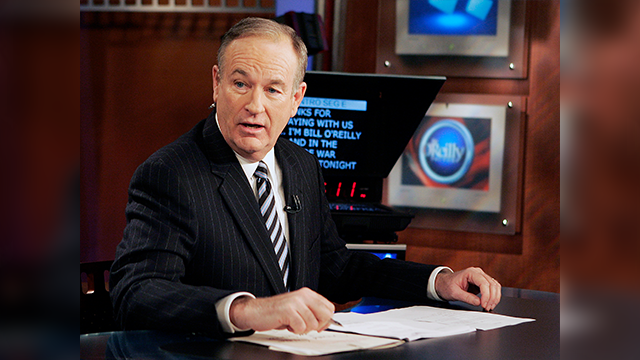 "(AP Photo/Jeff Christensen) Fox News commentator Bill O'Reilly appears on the Fox News show, ""The O'Reilly Factor,"" on Jan. 18, 2007 in New York."