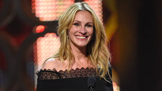 In this June 4, 2016, file photo, Julia Roberts accepts the woman of the decade award at the Guys Choice Awards in Culver City, Calif. (Photo by Chris Pizzello/Invision/AP)