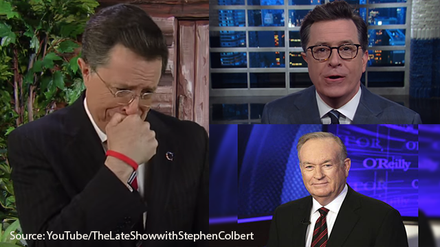 Stephen Colbert Has Mixed Feelings About Bill O'Reilly