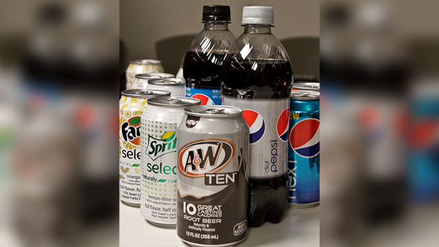 Diet sodas may be tied to stroke, dementia risk