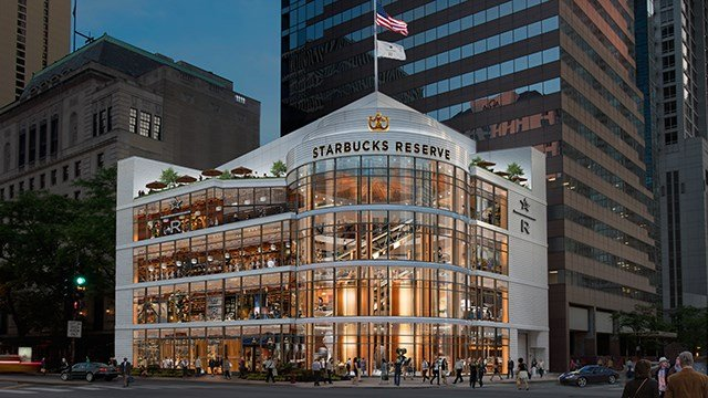 Starbucks announced a Reserve Roastery is coming to Chicago's Magnificent Mile in 2019. (Photo Courtesy: Starbucks)