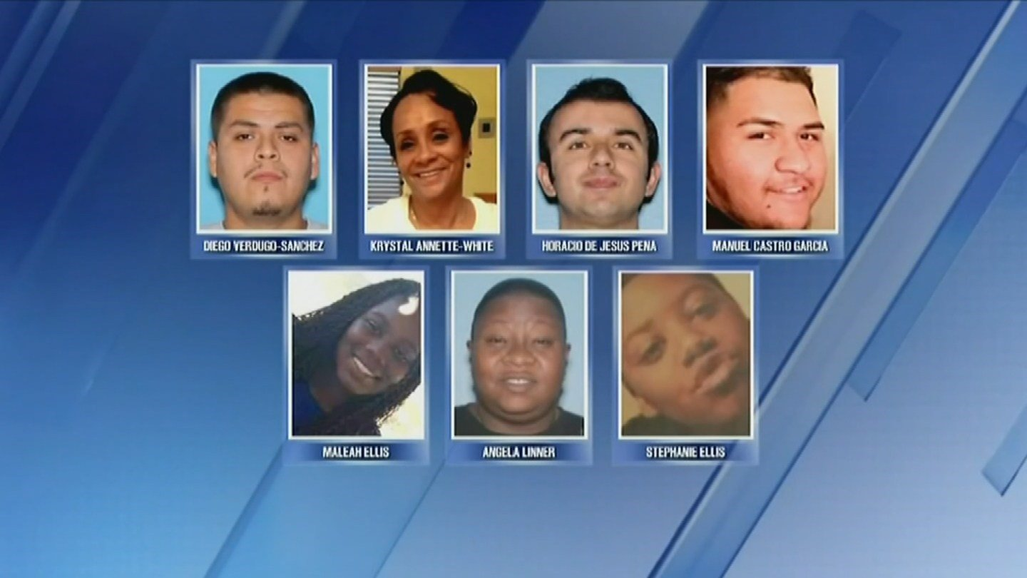 Police now say 9 killed in serial shootings case