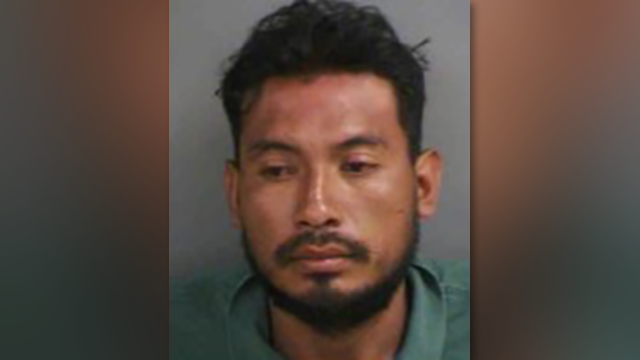 Cesar Sanchez, 29, was arrested for misusing the emergency call number, a misdemeanor. (Source: Collier County Sheriff's Office)
