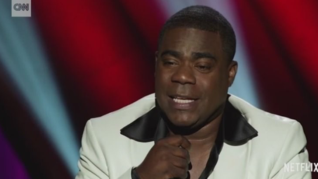"(Source: CNN) Tracy Morgan is overcoming tragedy the only way he knows how, through laughter. The former ""30 Rock"" star returns to the stage in a new Netflix comedy special, ""Tracy Morgan: Staying Alive""."