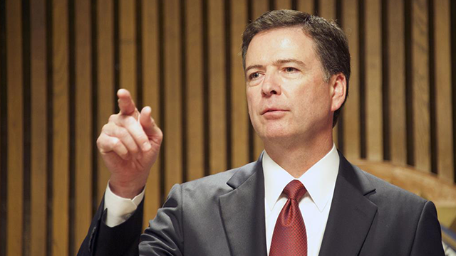 (Source: CNN) Director of the FBI James Comey was fired by President Trump on May 9, 2017.