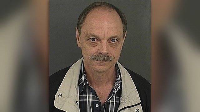 James Lowell Pennington was arrested Thursday, May 18, 2017, on suspicion of first-degree assault causing serious bodily injury for using an Army medical kit to castrate a transgender woman without a medical license. (Denver Police Department via AP)