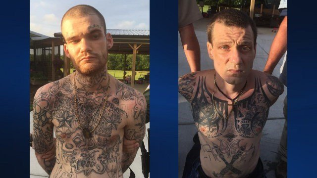 Escaped Georgia inmates caught in Tennessee after manhunt