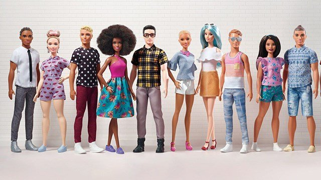 Mattel releases Ken doll with 'man bun' hairstyle