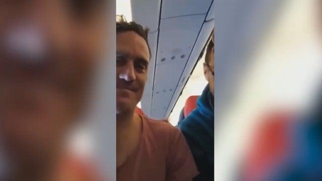 AirAsia passengers endure very shaky flight
