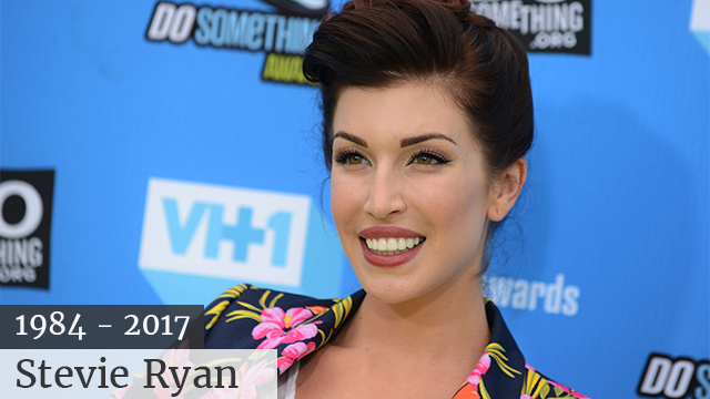 Stevie Ryan, YouTube and VH1 star, dead by hanging at age 33