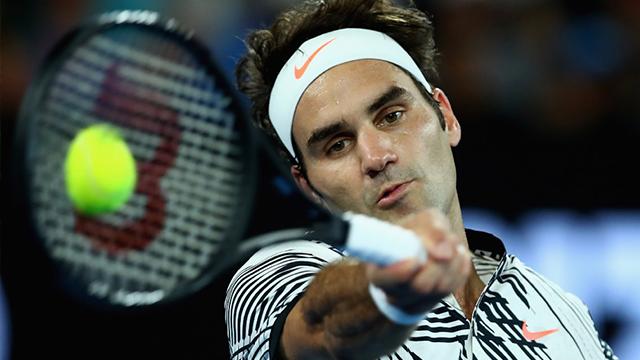 (AP Photo) Roger Federer at the 2017 Australian Open.