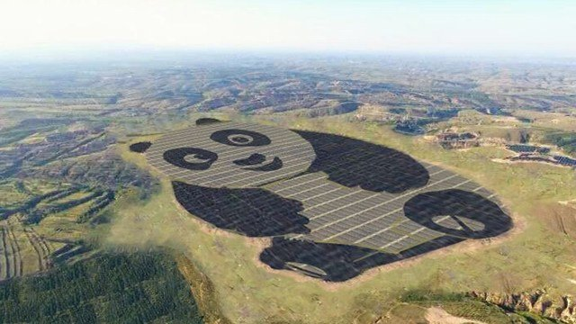 China's new solar plant is absolutely adorable