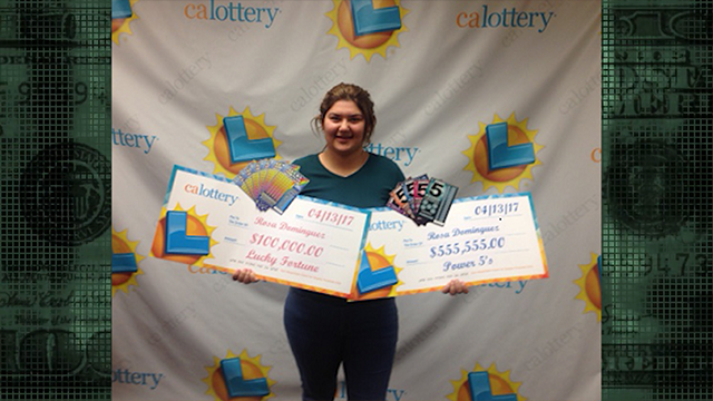 19-year-old wins California Lottery -- twice
