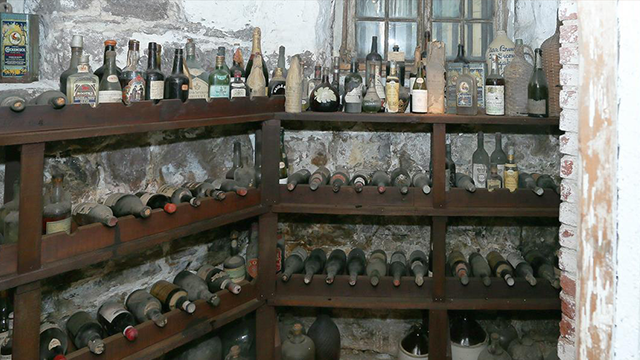 Liberty Hall Museum Wine Cellar Yields 1796 Vintage