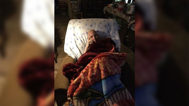 Army veteran wishes strangers to text him as his last wish