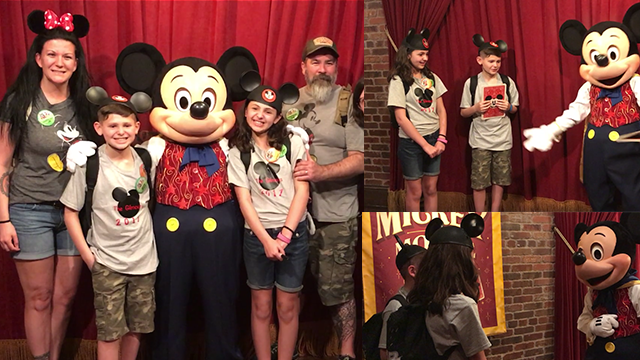 Mickey Mouse helps parents tell foster children they are being adopted