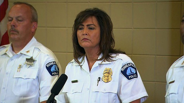Minneapolis Police Chief Janee Harteau resigned on July 21, 2017, according to a news release from Mayor Betsy Hodges. (CNN)