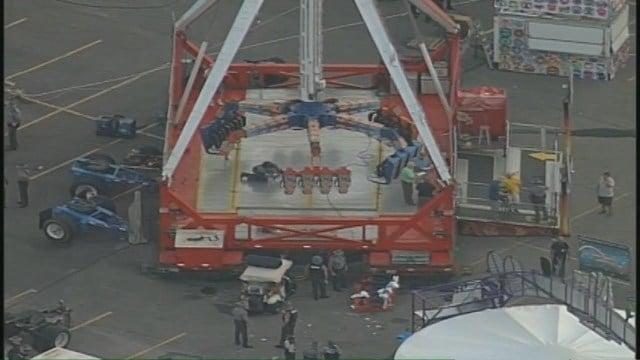 Ohio State Fair aerials