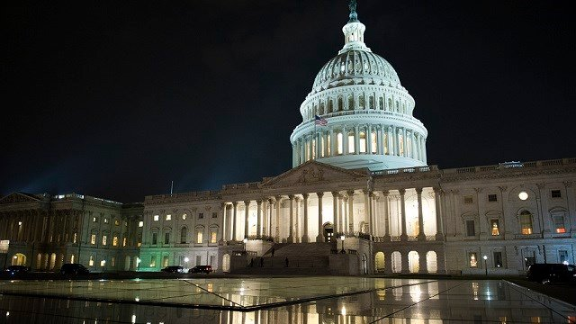 """The Capitol stays open as the Republican majority in Congress remains stymied by their inability to fulfill their political promise to repeal and replace """"Obamacare."""" (AP Photo/Cliff Owen)"""