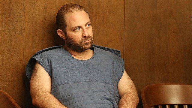 In this July 3, 2017, file photo, Aramazd Andressian Sr., who is accused of killing his 5-year-old son, Aramazd Andressian Jr., sits in a courtroom after pleading not guilty to a murder charge. (Allen J. Schaben/Los Angeles Times via AP, Pool, File)