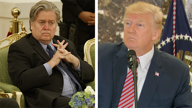 Trump strategist Bannon speaking out; here's what you need to know
