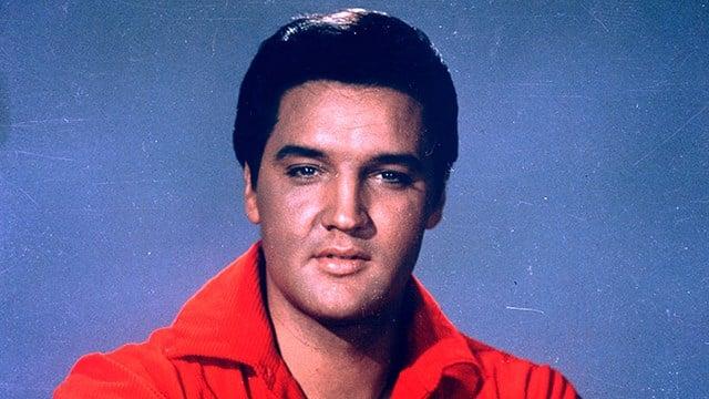 Elvis Presley is seen in this 1964 portrait. (AP Photo)