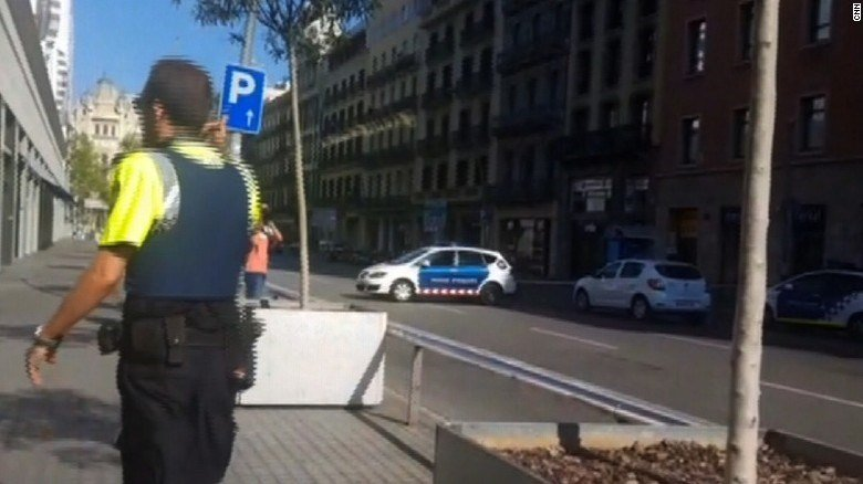 Two dead after van mows down people in Barcelona: Spanish media