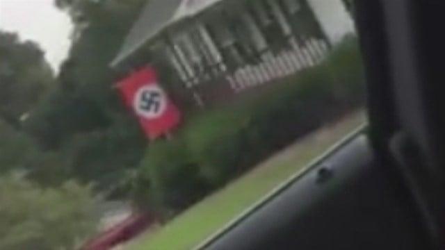 Nazi neighbor flag