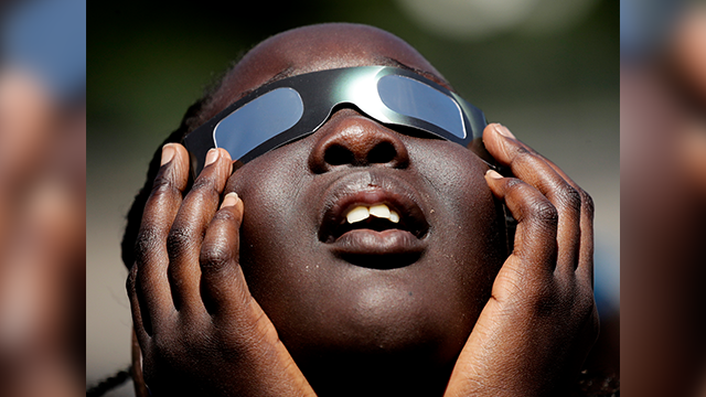 Enjoy eclipse but do so safely