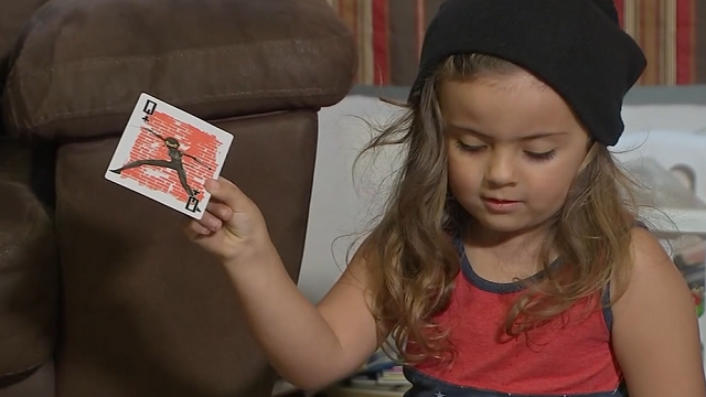 A 4-year-old Texas boy was sent home from school because of his long hair. (Source: KTRK via CNN)