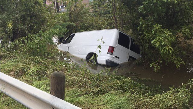 The van in which an elderly couple and their four grandchildren were riding when the vehicle was swept away Sunday by Tropical Storm Harvey's floodwaters has been found, Sheriff Ed Gonzalez of Harris County, Texas, said Wednesday. (CNN)