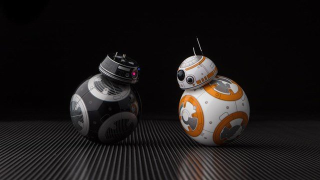 BB-8 is about to meet its dark side. (Photo: CNN, Lucasfilm)